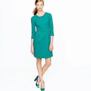 J Crew Green Teddie Dress Size 0
